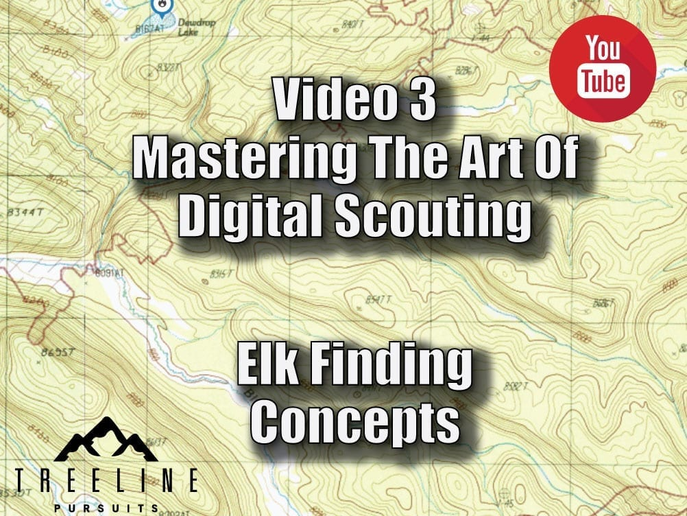 Mastering The Art Of Digital Scouting – Segment 3 – Finding Elk Concepts