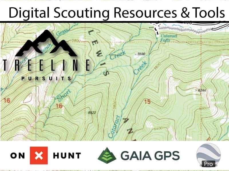 Elk Hunting – Digital Scouting Process, Content and Resources